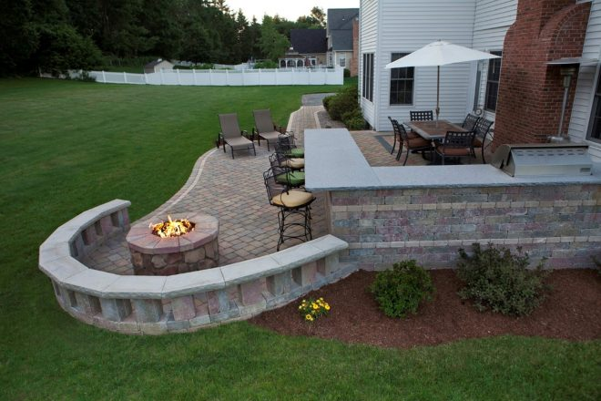 outdoor patio designs with fire pit fireplace design ideas
