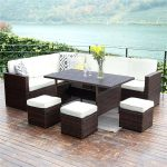 outdoor patio furniture material best wicker sets color