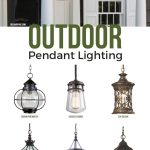 outdoor pendant lighting commonly called a hanging porch