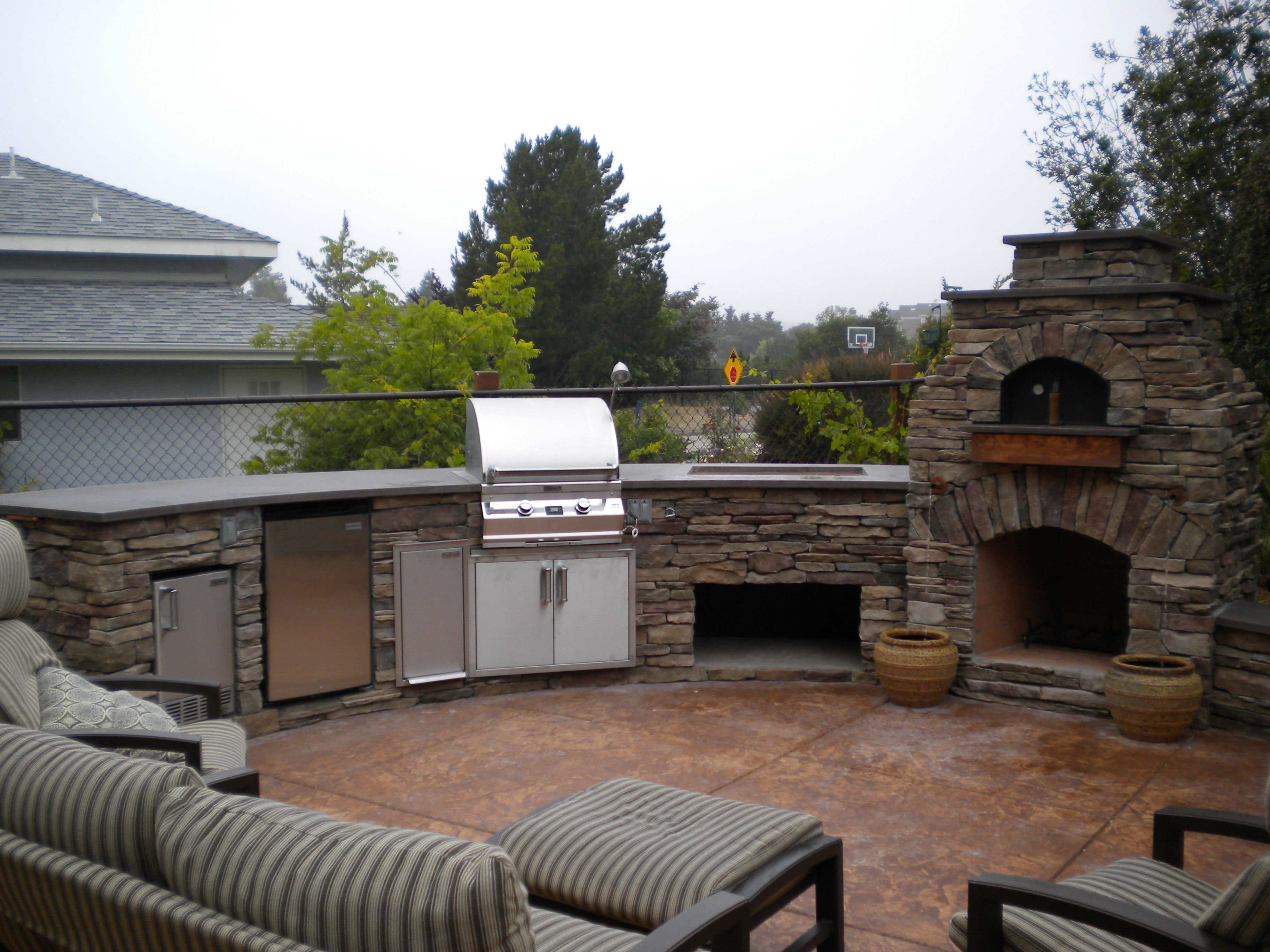 outdoor pizza oven fireplace fire magic appliances along with