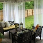 outdoor roll down patio curtains romantic outdoor patio