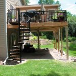 outdoor spiral staircase prices for decks furniture ideas