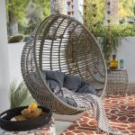 outdoor swing chair with stand island bay