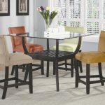 oval glass kitchen table best bloomfield 5 piece counter