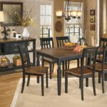 owingsville 8 pc rect dining room table 6 side chairs dining room server