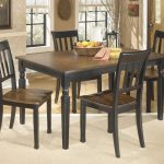 owingsville rectangular dining room table 4 side chairs