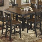 owingsville square drm counter ext table 6 bar stools