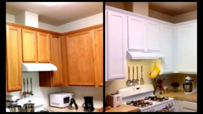 paint cabinets white for less than 120 diy paint cabinets