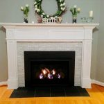 painting slate fireplace hearth fireplace design ideas
