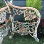 pair of victorian cast iron bench ends in benches and furniture