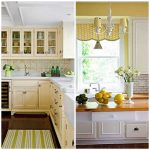 pale yellow kitchen images