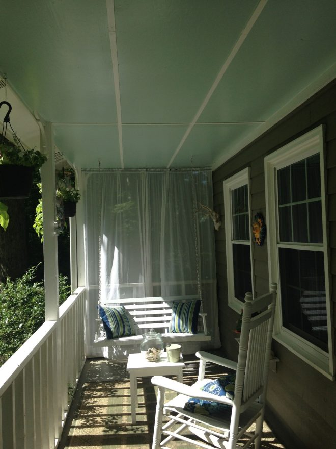 palladian blue benjamin moore porch ceiling i added the