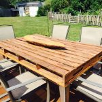 pallet patio coffee table pallet furniture
