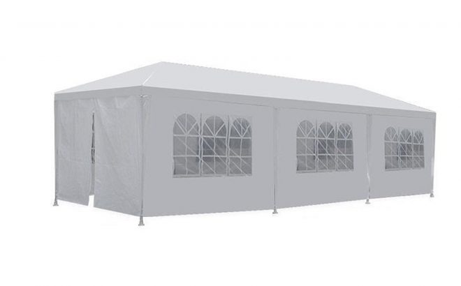 party tent wedding 10x30 outdoor gazebo canopy wedding party tent with 8 removable walls