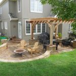 paver deck and patio ideas for small backyards amazing