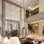 penthouse duplex living area google search hall interior