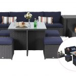 phi villa outdoor sectional patio sofa set wicker patio