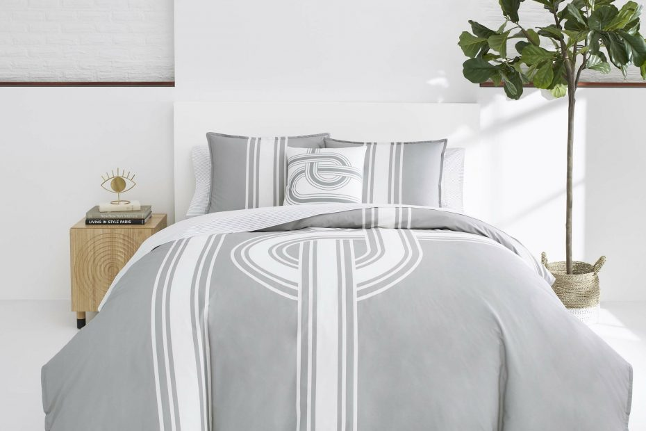 philippe now house jonathan adler grey reversible duvet cover set
