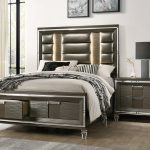 picket house charlotte copper 2pc bedroom set with 2 drawers storage queen bed