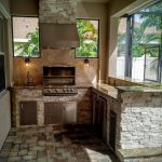 pictures of outdoor kitchen backsplashes granite for outdoor