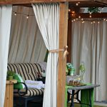 pin on pergola curtains