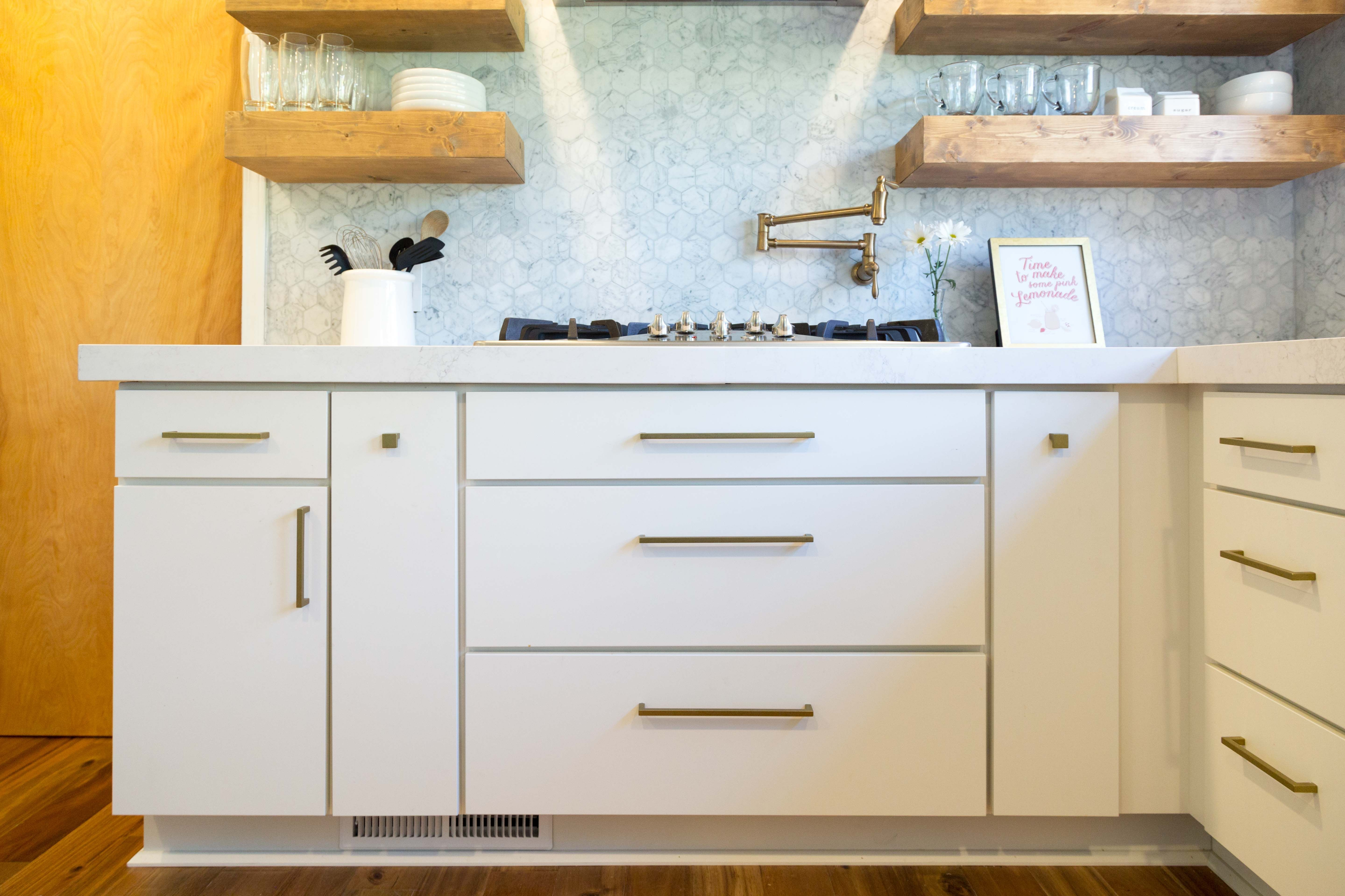 pin on white kitchen with modern slab door cabinets