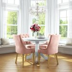 pink dining room chairs kabinetco