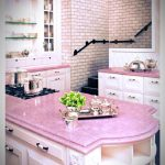 pink kitchen done right pretty in pink pink kitchen home