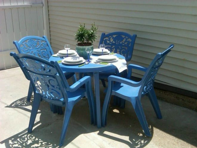 plastic outdoor patio furniture different types of