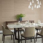 poliform grace chairs concorde dining table bocci 21