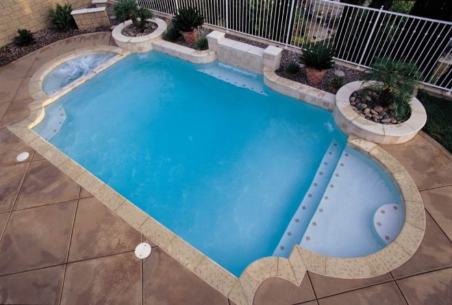 pool coping brick landscape designs for your home