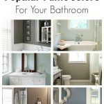 popular bathroom paint colors painted home decor tutorials and