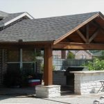 popular of backyard covered patio ideas outdoor bbq area