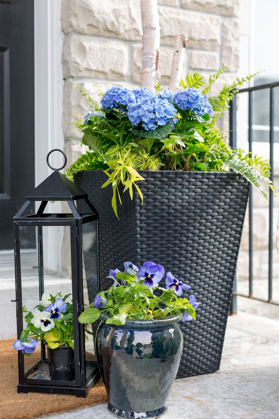 porch planter ideas and inspiration outside patio pinterest