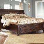 porter king sleigh bed