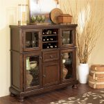 porter server with storage cabinet ashley furniture