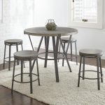 portland 5 piece counter height dining set