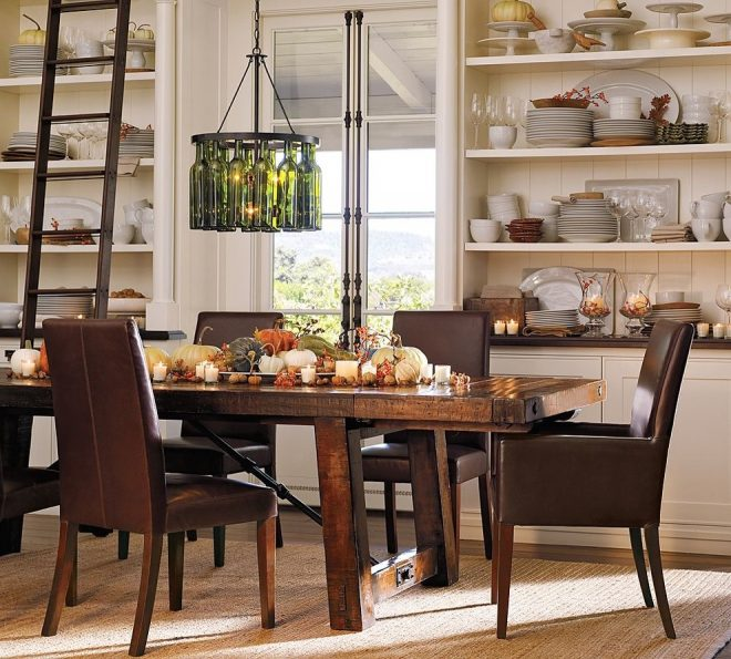 pottery barn contemporary dining room san francisco