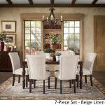 pranzo rectangular 66 inch extending dining table and set with baluster legs inspire q classic