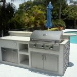 prefabricated outdoor kitchen kits prefab fireplaces islands