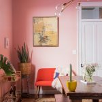 pretty in pink dining room makeover probably this