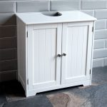 priano bathroom sink cabinet under basin unit cupboard storage