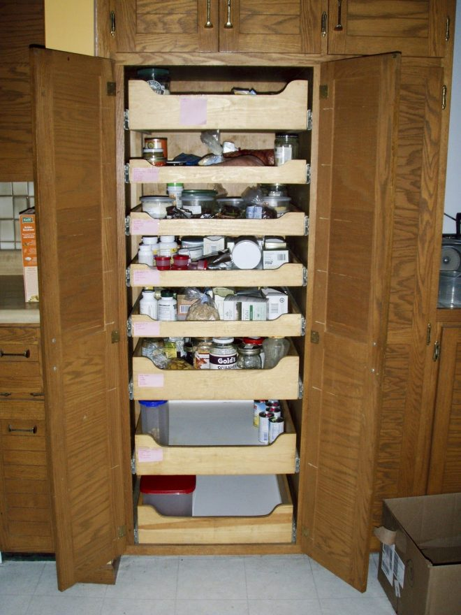 pull out pantry shelf installation home pinterest pull out