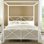 queen canopy bed frame ikea royals courage metal canopy