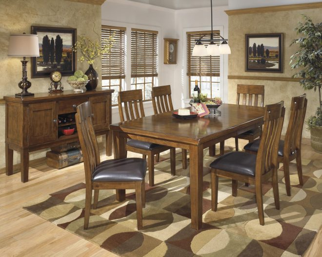 ralene formal dining room group