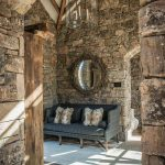 ranch house features medieval inspired craftsmanship in