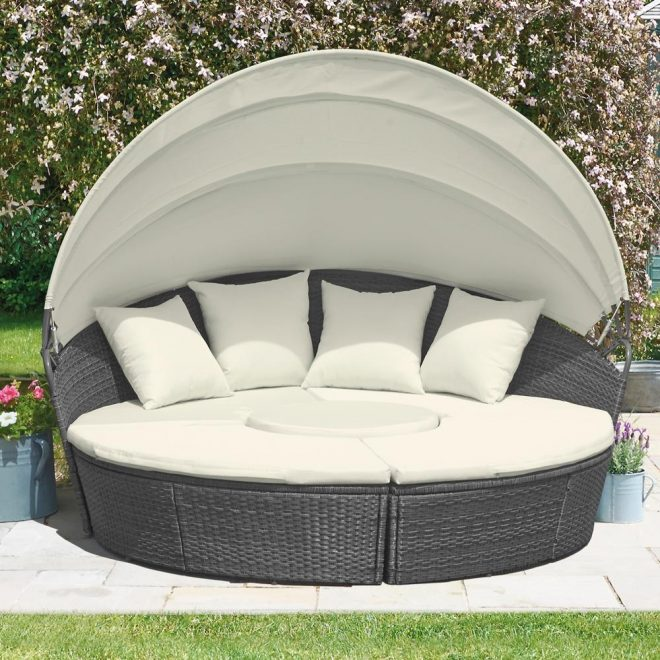 rattan day bed from 39999 in garden furniture telegraph shop