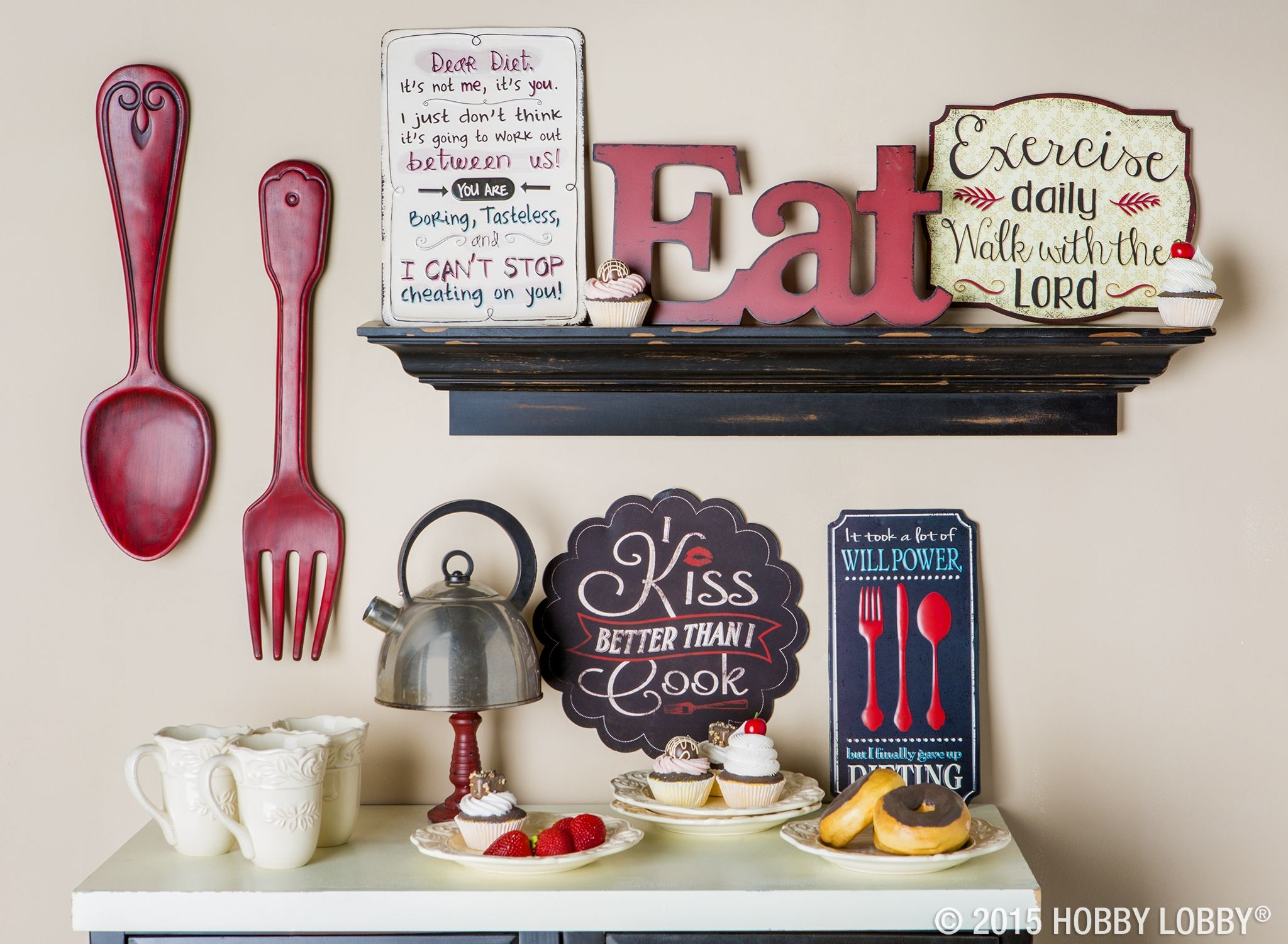 red fork wall decor kitchen ideas kitchen decor home decor kitchen