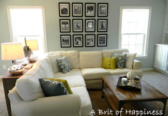 remodelaholic beach coastal family room makeover