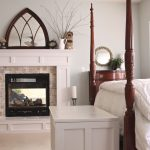 remodeled master bedroom fireplace theres no place like